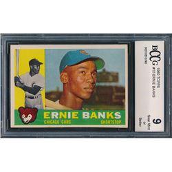 1960 Topps #10 Ernie Banks (BCCG 9)