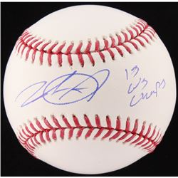 "Wade Davis Signed OML Baseball Inscribed ""15 WS Champs"" (JSA COA)"