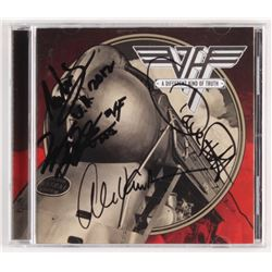 "Van Halen ""A Different Kind of Truth"" CD Booklet Signed by (4) with Eddie Van Halen, Alex Van Halen,"