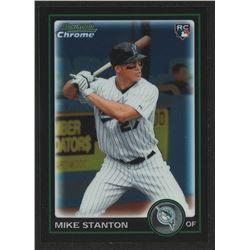 2010 Bowman Chrome Draft #BDP30 Mike Stanton RC