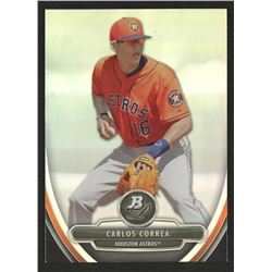 2013 Bowman Platinum Prospects #BPP23 Carlos Correa