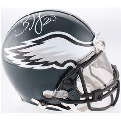 Brian Dawkins Signed Eagles Full-Size Authentic On-Field Helmet With Visor (JSA COA)