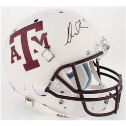 Mike Evans Signed Texas AM Aggies Full-Size Helmet (JSA COA)