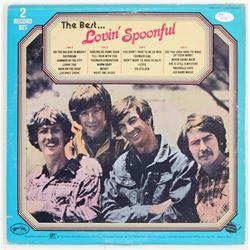 """John Sebastian, Joe Butler  Steve Boone Signed The Lovin' Spoonful """"The Best..."""" Record Album Cover"""