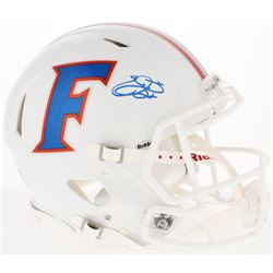 Emmitt Smith Signed Florida Gators Full-Size Authentic Throwback Speed Helmet (Prova COA)