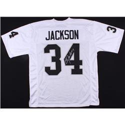 Bo Jackson Signed Raiders Jersey (Radtke COA)