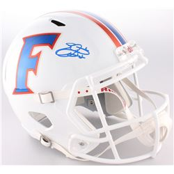 Emmitt Smith Signed Florida Gators Throwback Full-Size Speed Helmet (Prova COA)