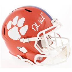 Deshaun Watson Signed Clemson Tigers Full-Size Speed Helmet (Watson Hologram  Radtke COA)