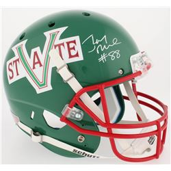 Jerry Rice Signed Mississippi Valley State Delta Devils Full-Size Helmet (Beckett COA)