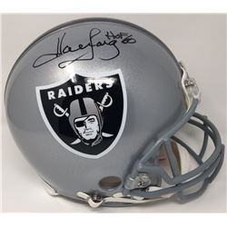 Howie Long Signed Raiders Limited Edition Full-Size Authentic On-Field Helmet Inscribed  HOF 00  (St