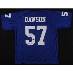 "Dermontti Dawson Signed Kentucky Wildcats Jersey Inscribed ""Go Big Blue"" (Radtke COA)"