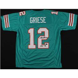 "Bob Griese Signed Dolphins Jersey Inscribed ""HOF '90""(Radtke COA)"