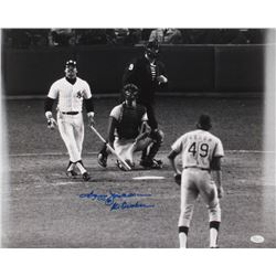 "Reggie Jackson Signed Yankees 16x20 Photo Inscribed ""Mr. October"" (JSA COA)"