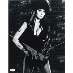 Elvira Signed 11x14 Photo (JSA COA)