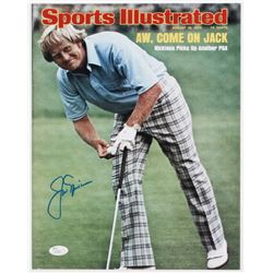 Jack Nicklaus Signed Sports Illustrated 11x14 Photo (JSA COA)