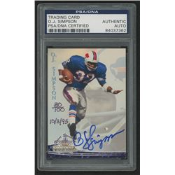O.J. Simpson Signed 1994 Ted Williams #8 (PSA Encapsulated)