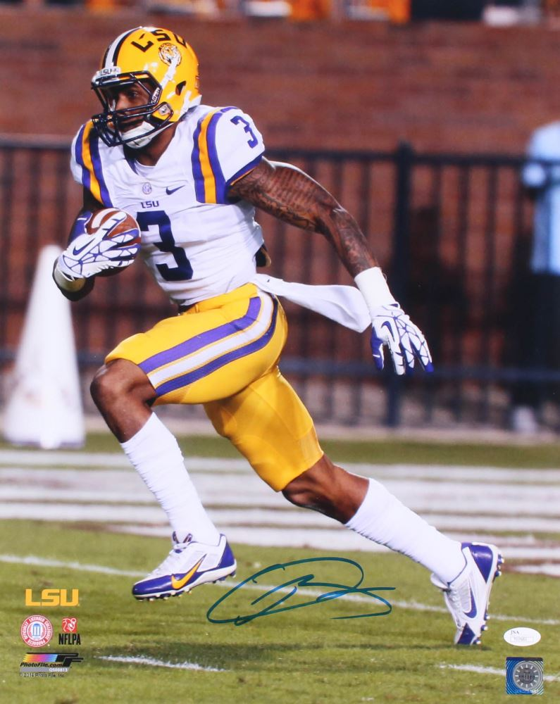 new styles 370cd 8bc2e Odell Beckham Jr Signed LSU Tigers 16x20 Photo (JSA COA)