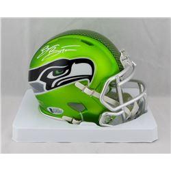 Brian Bosworth Signed Seahawks Blaze Speed Mini Helmet (Beckett COA)