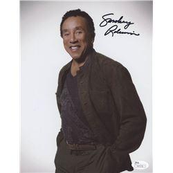 Smokey Robinson Signed 8x10 Photo (JSA COA)