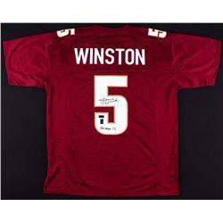 "Jameis Winston Signed Florida State Seminoles Jersey Inscribed ""Heisman 13"" (Radtke COA  Jameis Wins"