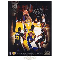 "Kobe Bryant Signed Lakers 16x20 Limited Edition Photo Inscribed ""60 PTS"" (Panini COA)"