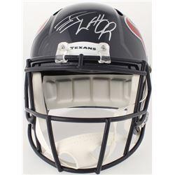 J. J. Watt Signed Texans Full-Size Speed Helmet (JSA COA  Watt Hologram)