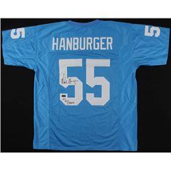 "Chris Hanburger Signed North Carolina Tar Heels Jersey Inscribed ""63 ACC Champs"" (Radtke COA)"