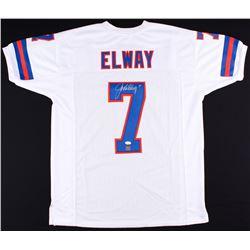 John Elway Signed Broncos Jersey (JSA COA  Elway Hologram)