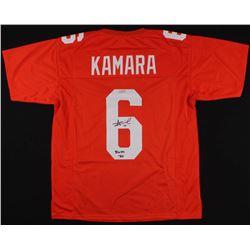 """Alvin Kamara Signed Tennessee Volunteers Jersey Inscribed """"Rocky Top""""  (Radtke COA)"""
