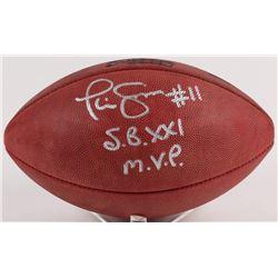 "Phil Simms Signed Official NFL Super Bowl XXI Football Inscribed ""S.B. XXI M.V.P."" (JSA  Radtke COA)"