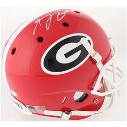 A. J. Green Signed Georgia Bulldogs Full-Size Helmet (JSA COA)