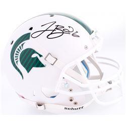 Le'Veon Bell Signed Michigan Spartans Full-Size Replica Helmet (JSA COA)