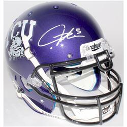LaDainian Tomlinson Signed TCU Horned Frogs Full-Size Authentic On-Field Helmet (Tomlinson Hologram)