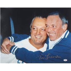 Tommy Lasorda Signed Dodgers 16x20 Photo (PSA Hologram)