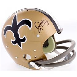 Archie Manning Signed Saints Full-Size TK Suspension Helmet (Radtke COA)
