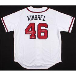 "Craig Kimbrel Signed Braves Majestic Jersey Inscribed ""2011 NL ROY"" (Radtke COA)"