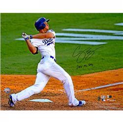 "Corey Seager Signed Dodgers 16x20 Photo Inscribed ""2016 NL ROY"" (Fanatics Hologram  MLB Hologram)"