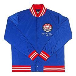 """Julius """"Dr. J"""" Erving Signed 1982-83 76ers Stadium Jacket (UDA COA)"""