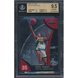 2007-08 Finest #71 Kevin Durant RC (BGS 9.5)