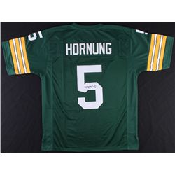 Paul Hornung Signed Packers Jersey (JSA COA)