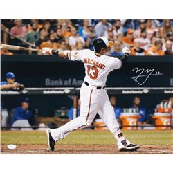 Manny Machado Signed Orioles 16x20 Photo (JSA COA)