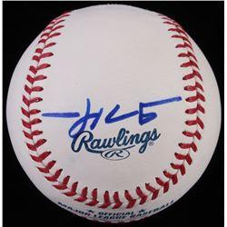 Trevor Hoffman Signed OML Baseball (JSA COA)