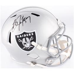 Bo Jackson Signed Raiders Full-Size Speed Helmet (Jackson Hologram)