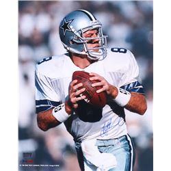 Troy Aikman Signed Cowboys 16x20 Photo (Radtke COA)