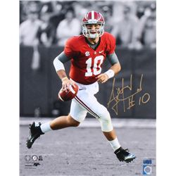 AJ McCarron Signed Alabama 16x20 Photo (Radtke COA)