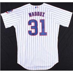 """Greg Maddux Signed Cubs Jersey Inscribed """"HOF 14"""" (Radtke COA)"""