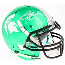 LeVeon Bell Signed Michigan State Spartans Chrome Full-Size Authentic On-Field Helmet (JSA COA)