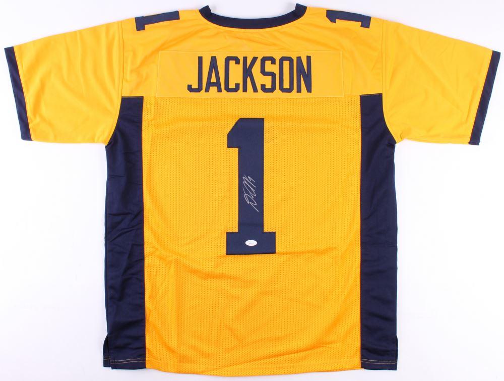 official photos 4aa7d 32907 DeSean Jackson Signed California Golden Bears Jersey (JSA ...