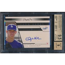 2006 TRISTAR Prospects Plus Farm Hands Autographs #25 Clayton Kershaw RC (BGS 9.5)