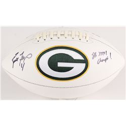 "Brett Favre Signed Packers Logo Football Inscribed ""SB XXXI Champs!"" (Favre COA)"
